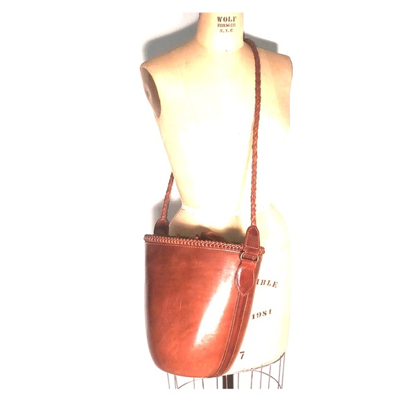 Barneys New York Handbags - Barney's NY Structured Boho Shoulder Bucket Bag